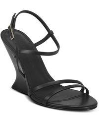 Sigerson Morrison Women's Willa Wedge Sandals - Black