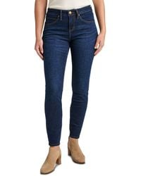 Jag Jeans Cecilia Skinny Jeans In Night Breeze - Blue