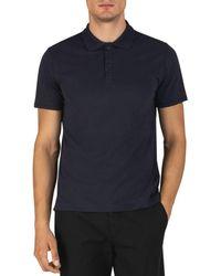 ATM Atm Anthony Thomas Melilo Classic Fit Polo Shirt - Blue
