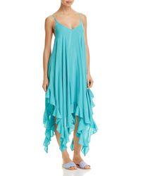Bleu Rod Beattie - Handkerchief-hem Dress Swim Cover-up - Lyst
