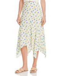 Lost + Wander Lost + Wander Mama Mia Floral - Print Midi Skirt - Multicolor