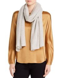C By Bloomingdale's Oversized Cashmere Travel Wrap - Multicolour