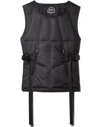 Dyne Puffer Baffle Vest - Multicolor