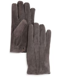 Bloomingdale's - Three - Cord Suede Gloves - Lyst