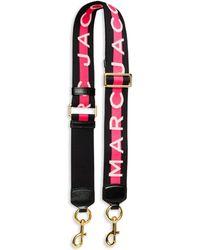 Marc Jacobs Striped Shoulder Strap - Pink
