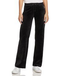 Juicy Couture - Mar Vista Luxe Velour Flared Trousers - Lyst