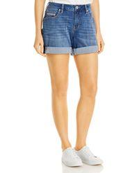 Jag Jeans Alex Boyfriend Shorts - Blue