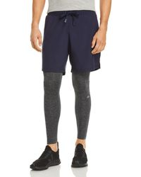 Alo Yoga Stability 2 - In - 1 Trousers - Blue