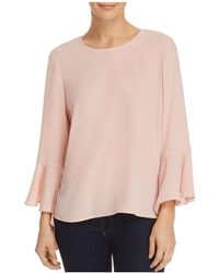 Vince Camuto - Cascade Bell-sleeve Top - Lyst