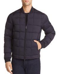 Emporio Armani - Zip Puffer Jacket - Lyst