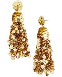 BaubleBar - Sequin Tassel Drop Earrings - Lyst