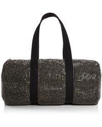 Alexander Wang Cruiser Crystal Large Duffle Bag - Black