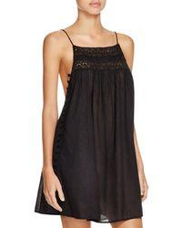 Boho Me Pom Pom Mini Dress Swim Cover - Up - Black