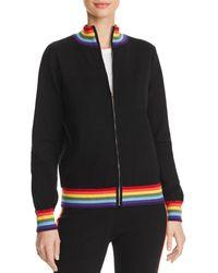 Aqua - Madeleine Thompson X Rainbow-stripe Track Jacket - Lyst