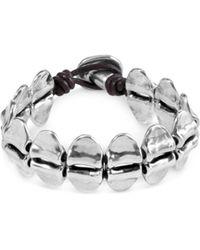 Uno De 50 - Nancy Leather Bracelet - Lyst