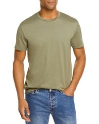 Bloomingdale's The Store At Bloomingdale's Pima Cotton Crewneck Tee - Green