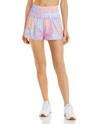 Free People Fp Movement By The Way Home Shorts - Multicolour