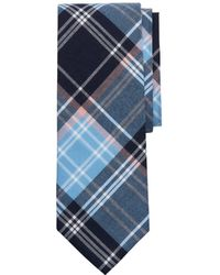 Brooks Brothers - Madras Plaid Classic Tie - Lyst