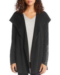 Karen Kane - Faux Leather Detail Jacket - Lyst