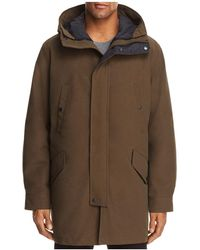 Cole Haan - Waterproof Three-in-one Hooded Coat - Lyst