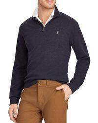 Polo Ralph Lauren - Double-knit Half-zip Pullover Sweater - Lyst