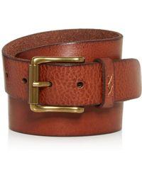 Frye - Men's Sam Leather Belt - Lyst