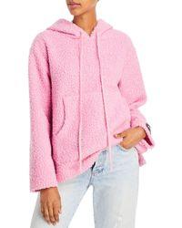 STAUD Bear Hoodie - Pink