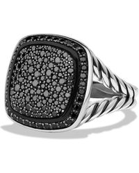 David Yurman - Albion Ring With Black Diamonds - Lyst