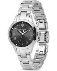 Victorinox Alliance Link Bracelet Watch - Metallic