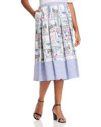 Marina Rinaldi - Carracci Pleated Skirt - Lyst