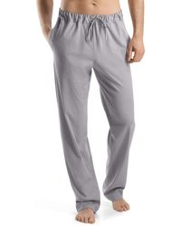 Hanro Night And Day Knit Lounge Trousers - Gray