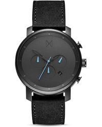 MVMT Chrono Gunmetal Watch  - Black