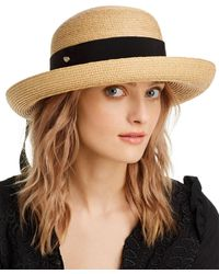 Helen Kaminski Newport Raffia Sun Hat - Multicolour