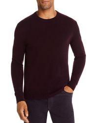 Bloomingdale's Cashmere Crewneck Sweater - Purple