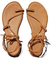 TKEES Jo Lace Up Sandals - Multicolor