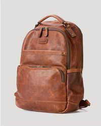 Frye - Logan Leather Backpack - Lyst