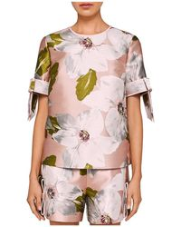 Ted Baker - Caytey Chatsworth Bloom Top - Lyst