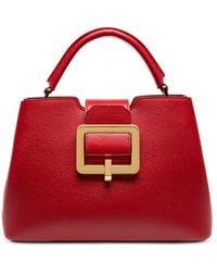Bally Jorah Leather Handbag - Red