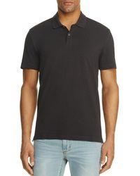 Velvet By Graham & Spencer Willis Regular Fit Polo Shirt - Black