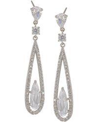Carolee - Long Linear Drop Earrings - Lyst