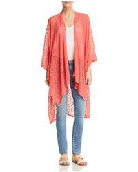 Status By Chenault - Cascade Duster Cardigan - Lyst