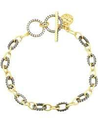 Freida Rothman - Two-tone Toggle Bracelet - Lyst
