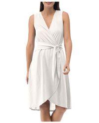 B Collection By Bobeau Rowan Faux - Wrap Dress - White