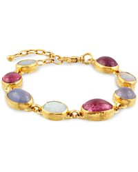 Gurhan 24k/22k Yellow Gold Multistone Bracelet - Metallic