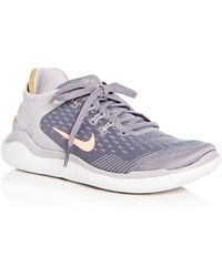 Nike - Women's Free Rn 2018 Lace Up Sneakers - Lyst