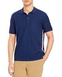 ATM Classic Pique Regular Fit Polo Shirt - Blue