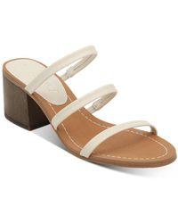 Splendid Women's Meli Strappy Mid - Heel Sandals - Multicolour