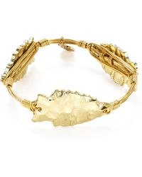 Bourbon and Boweties - Arrowhead Bangle - Lyst