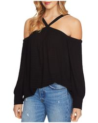 1.STATE - Cold-shoulder Poet Top - Lyst