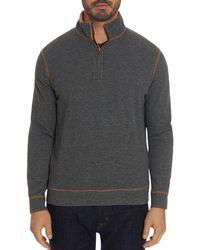 Robert Graham - Firth Half-zip Sweater - Lyst